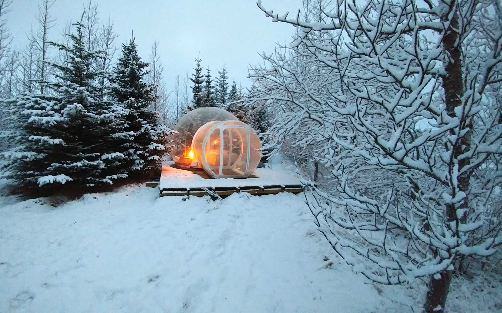 This Bubble Hotel Is The Ultimate Way To Sleep Under The