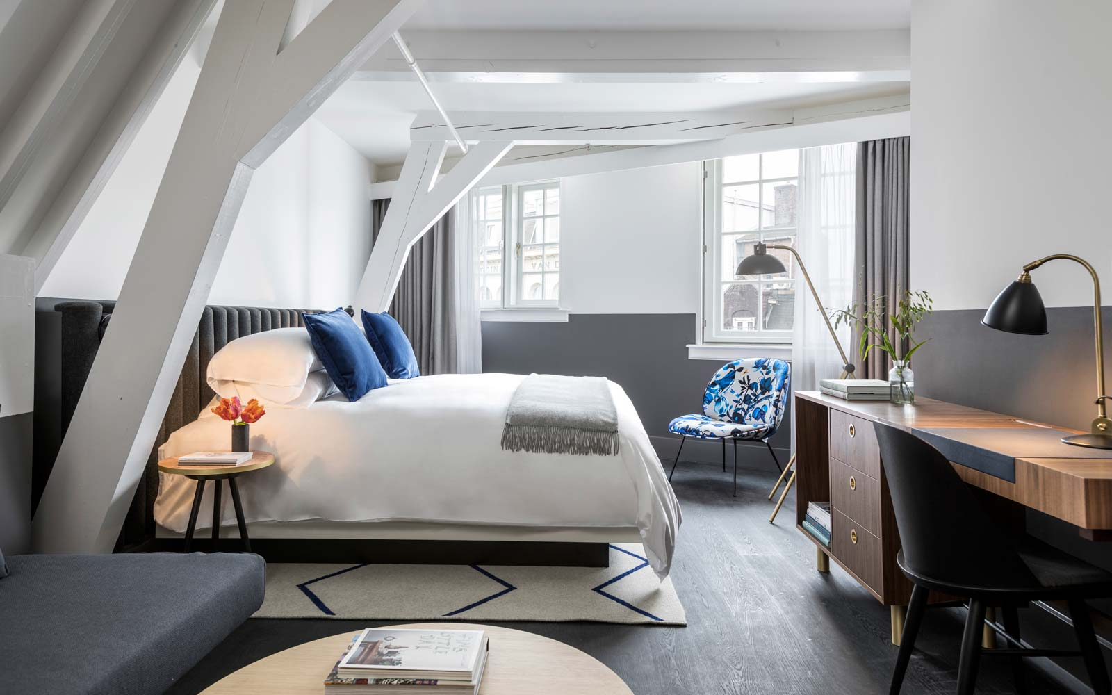 An inside look at the new Kimpton De Witt Hotel in Amsterdam