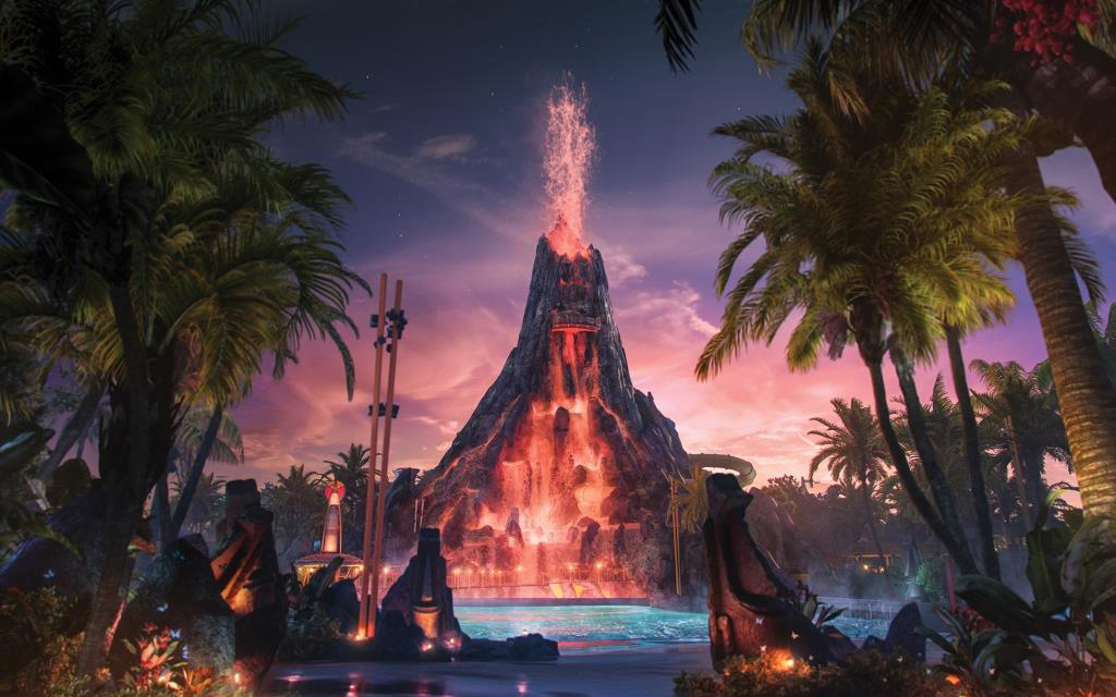 The new Volcano Bay theme park will have terrifying drops, trap-door waterslides and no lines