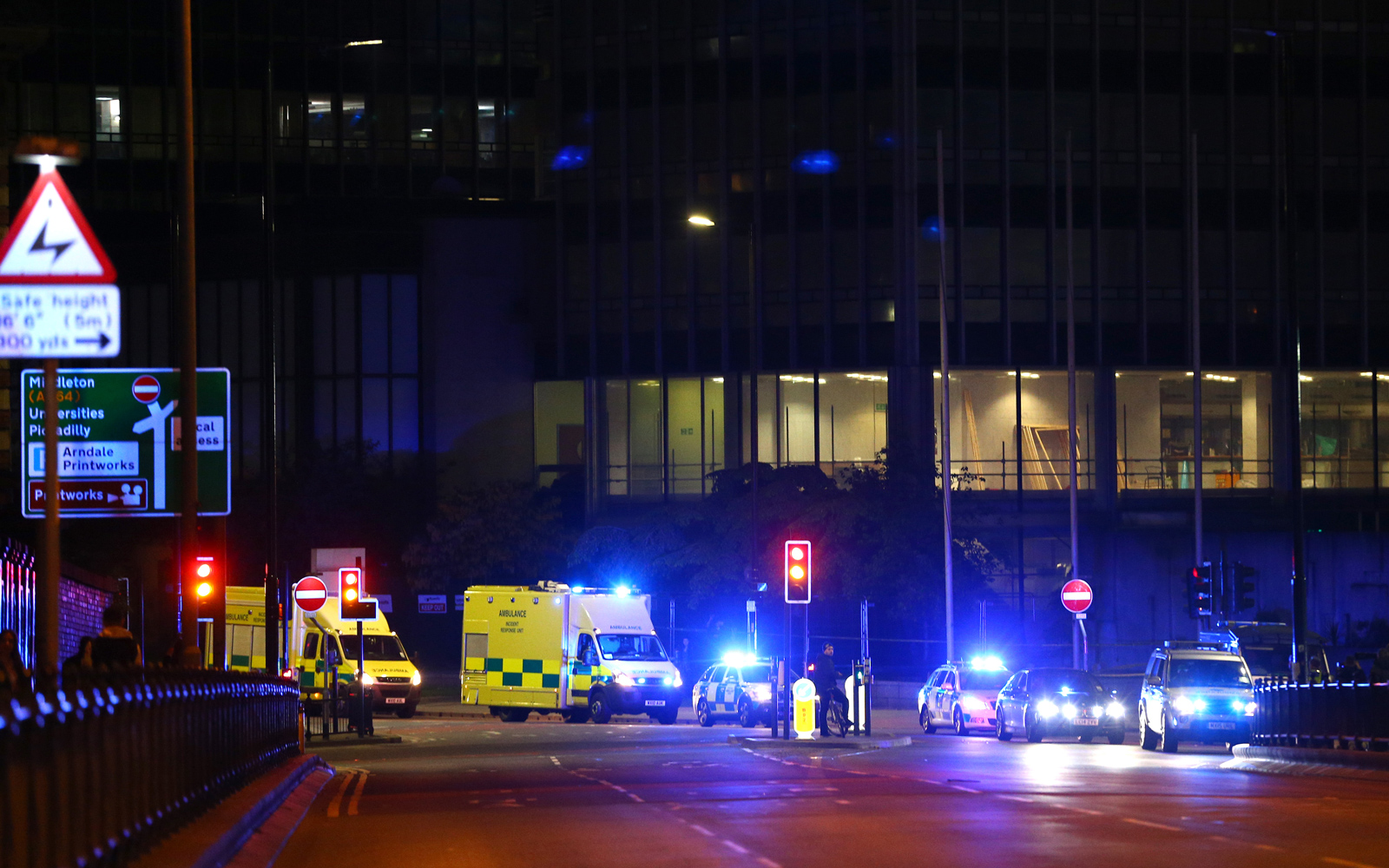 Multiple fatalities reported after explosion at Ariana Grande concert in Manchester
