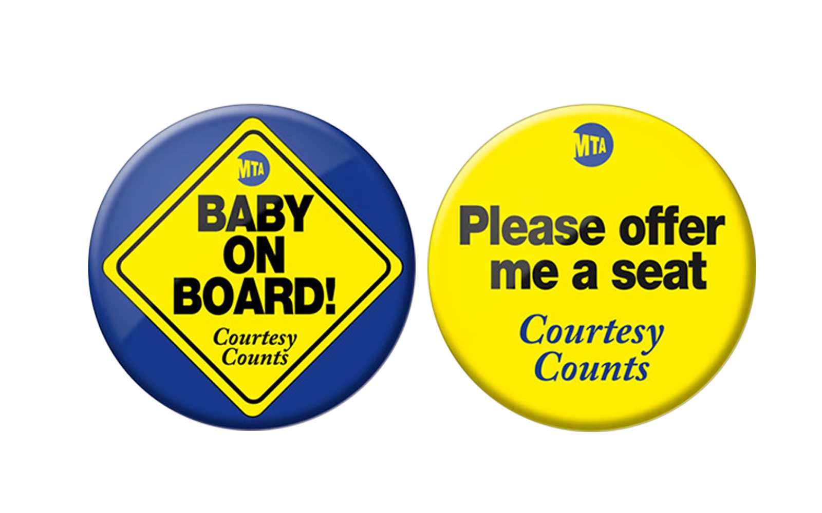 MTA NYC Subway Buttons