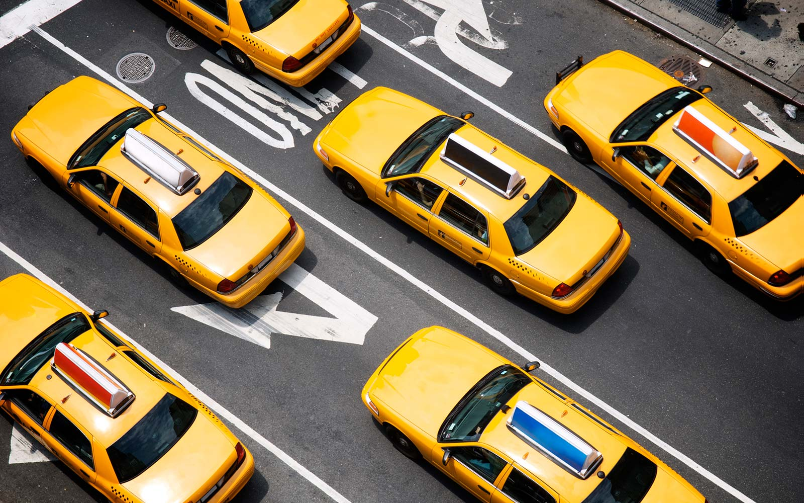 Why are taxi cabs yellow?