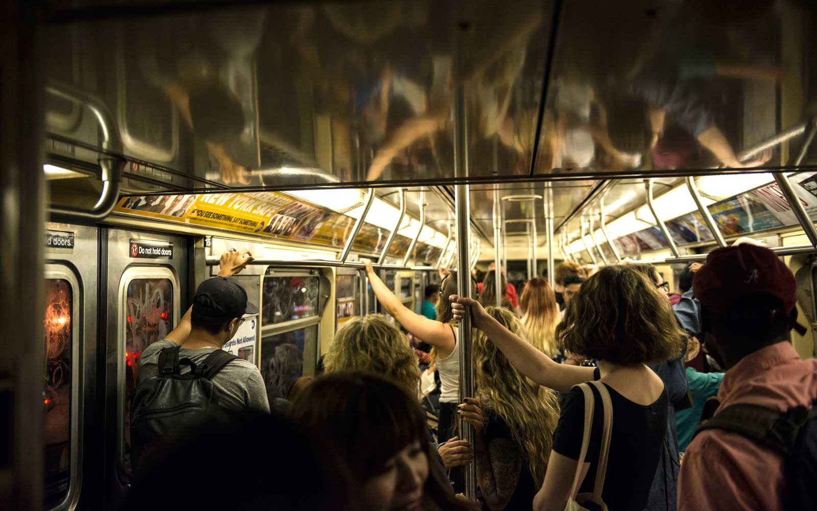 How NYC is trying to make the subway more polite