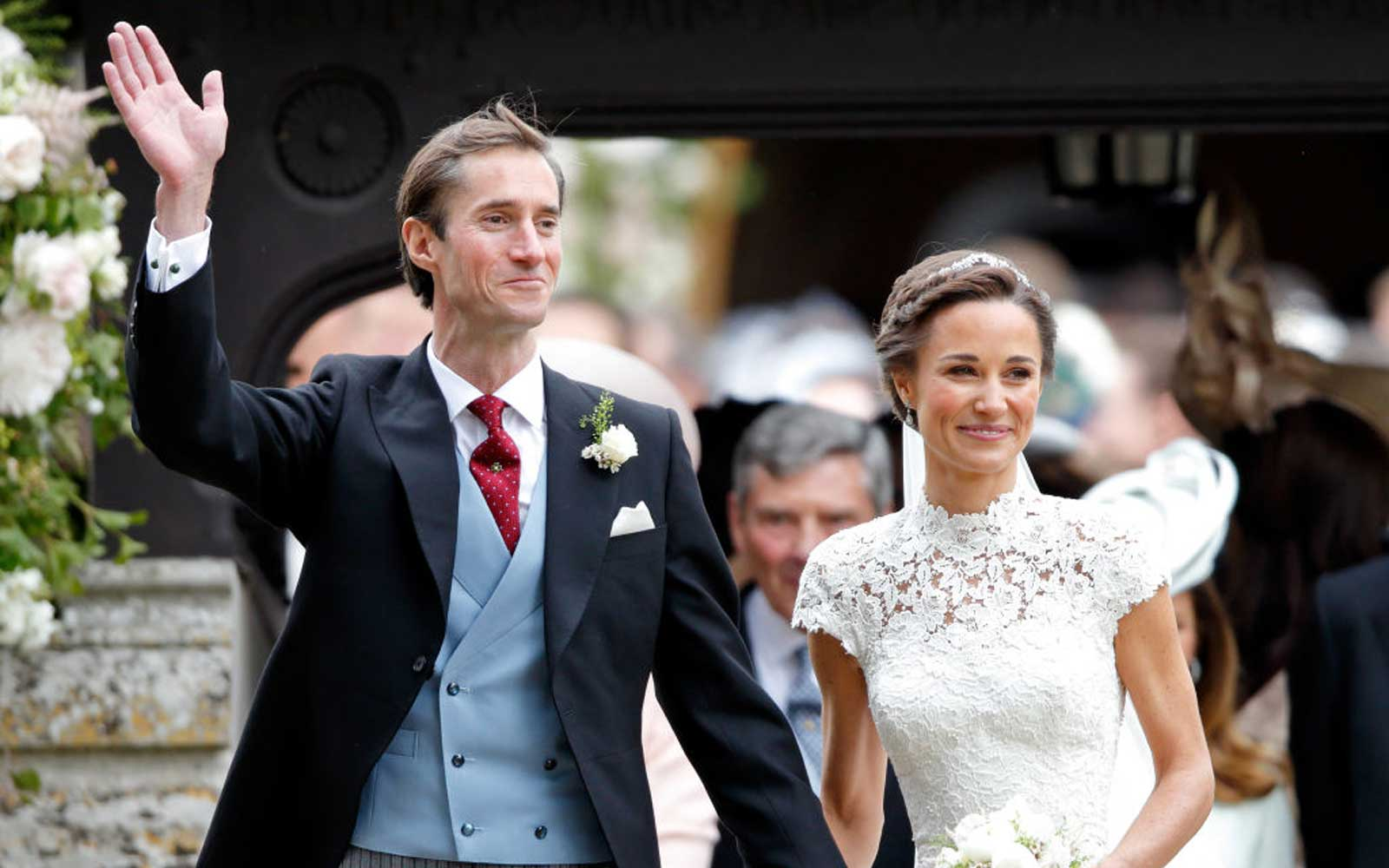 See Pippa Middleton's stunning wedding gown