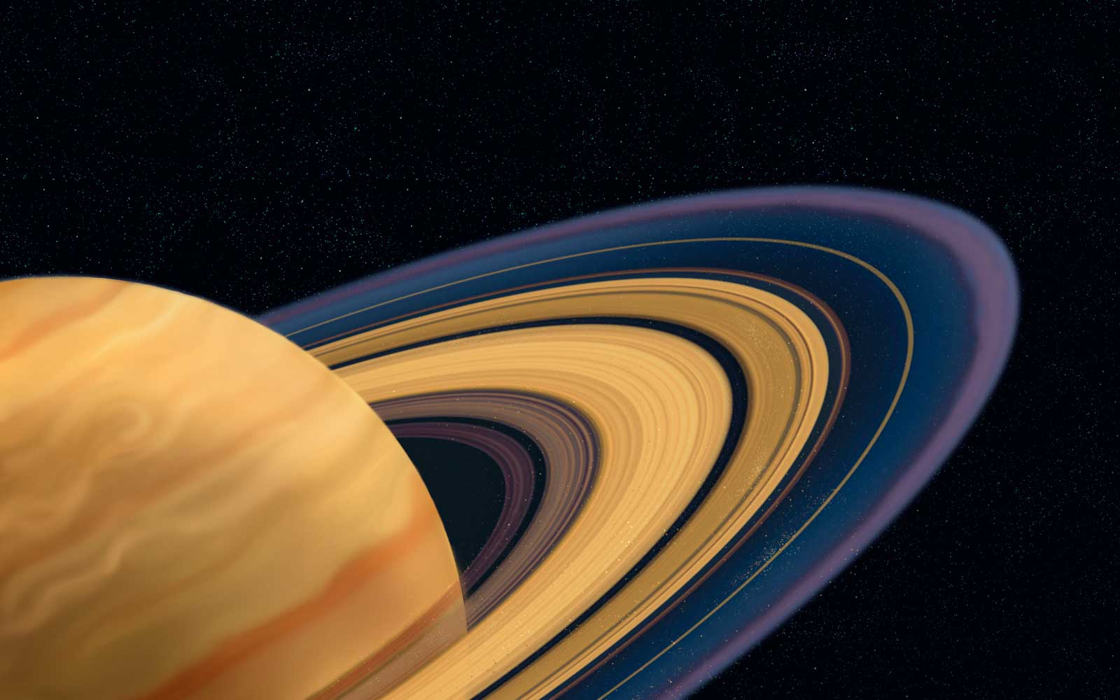 The gaps in Saturn's rings radiate a spooky sound