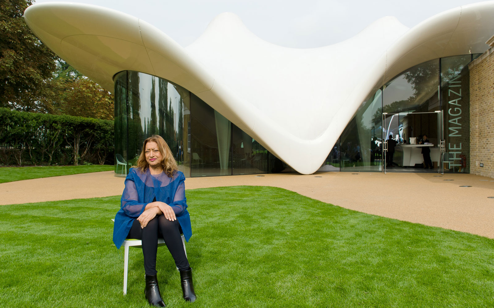 Google honors late architect Zaha Hadid with Doodle