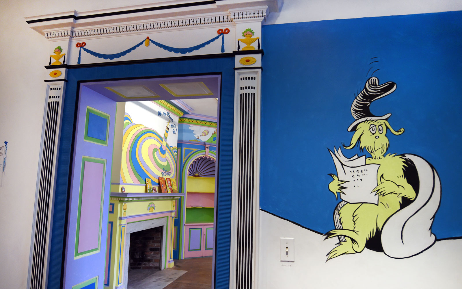 seuss museum room