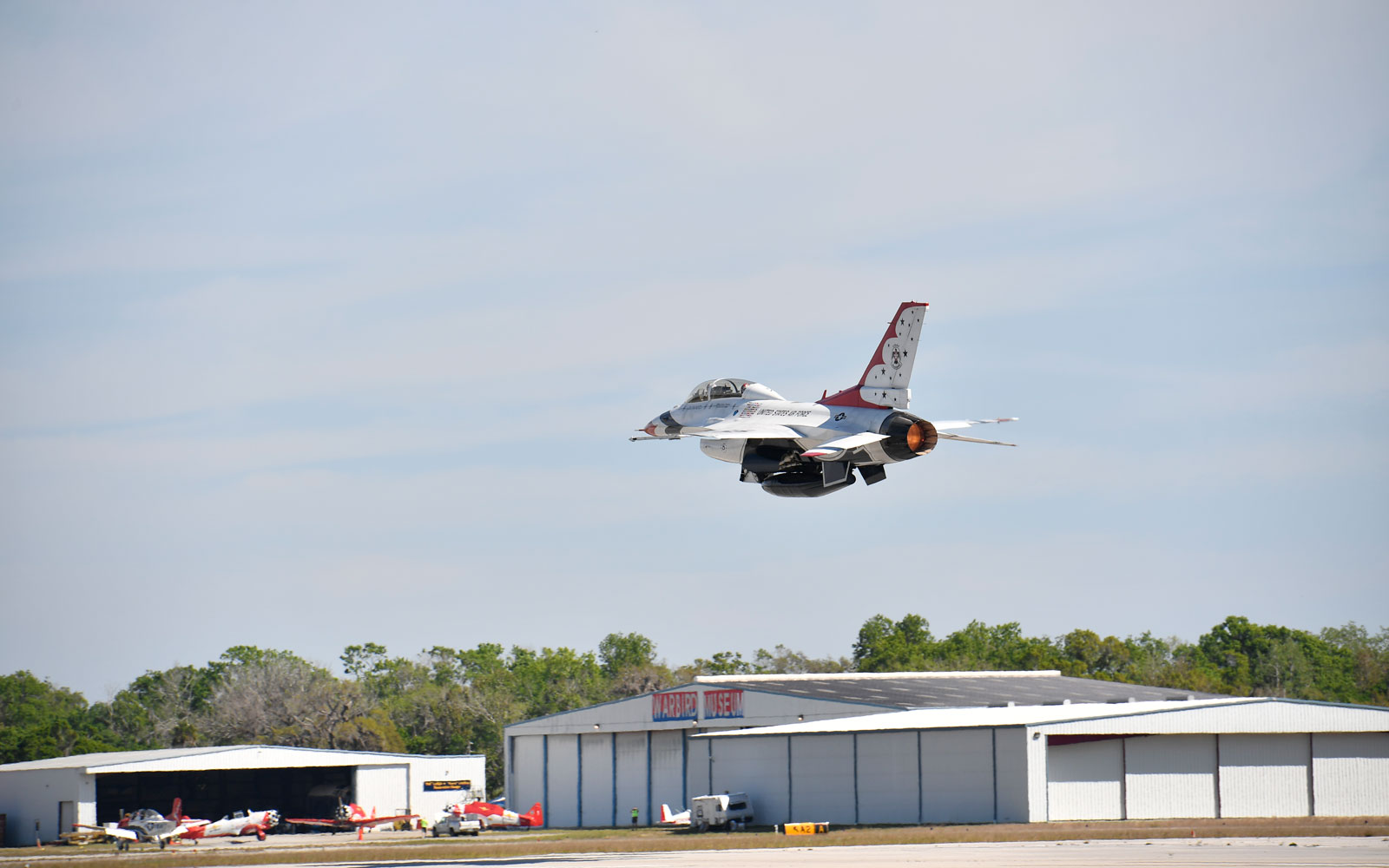 f-16 in the air