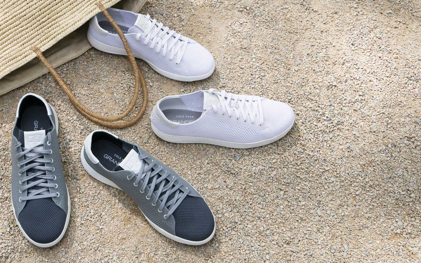 Cole Haan's new knit sneaker is the perfect travel shoe