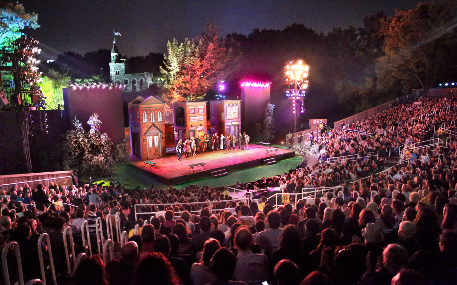 Don't miss this summer's free Shakespeare in the Park performances