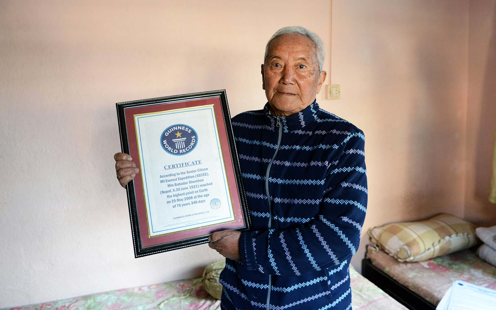 85-year-old Plans to Become Oldest Person to Climb Mount Everest — Again