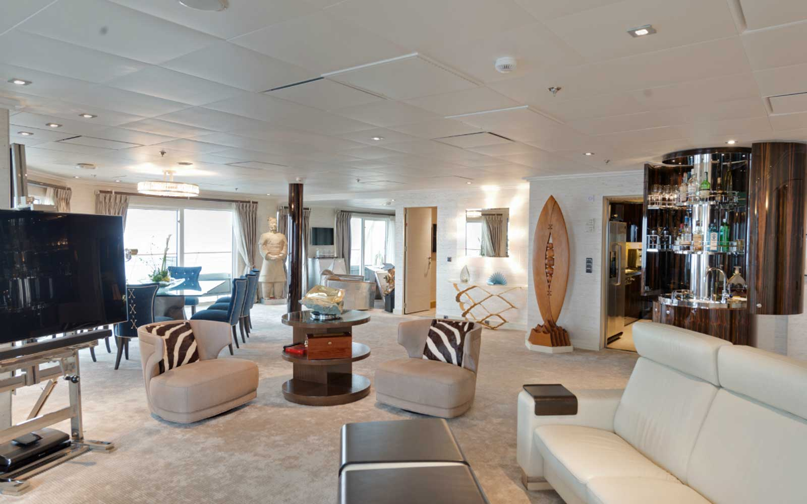 Luxury Ship Residence