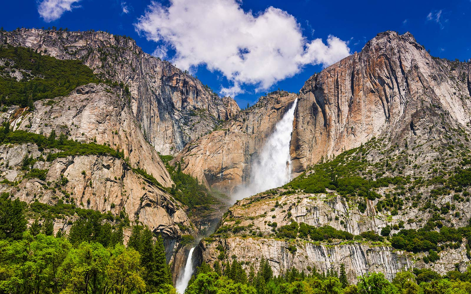 Incredible new waterfalls have appeared at Yosemite, thanks to heavy snowfall