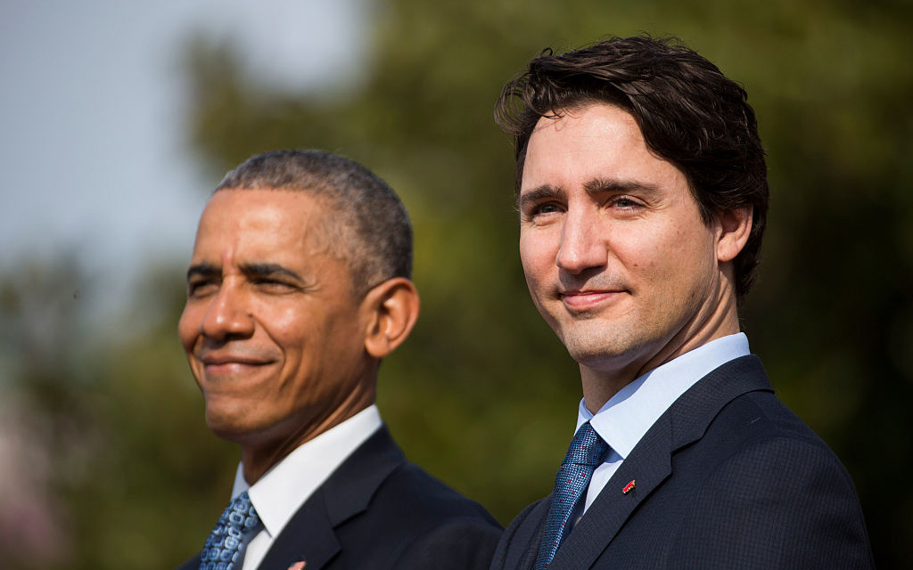 Obama and Justin Trudeau had a casual dinner, and the photos are priceless