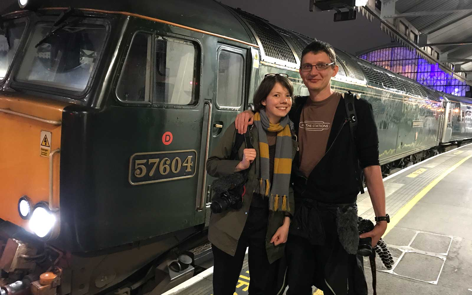 This Couple Is on a Mission to Visit All 2,563 Train Stations in Britain