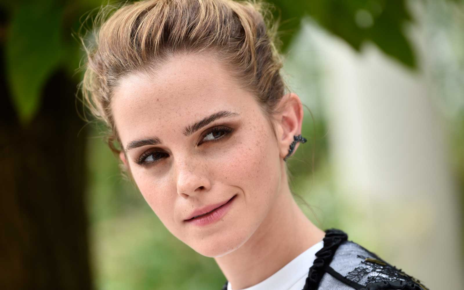 Emma Watson Is Secretly Hiding Books Around Paris