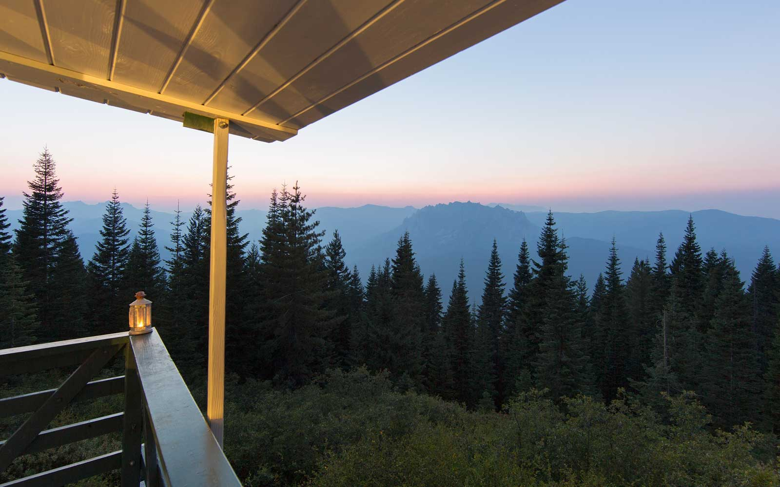 You Can Camp Above the Trees in These Fire Towers
