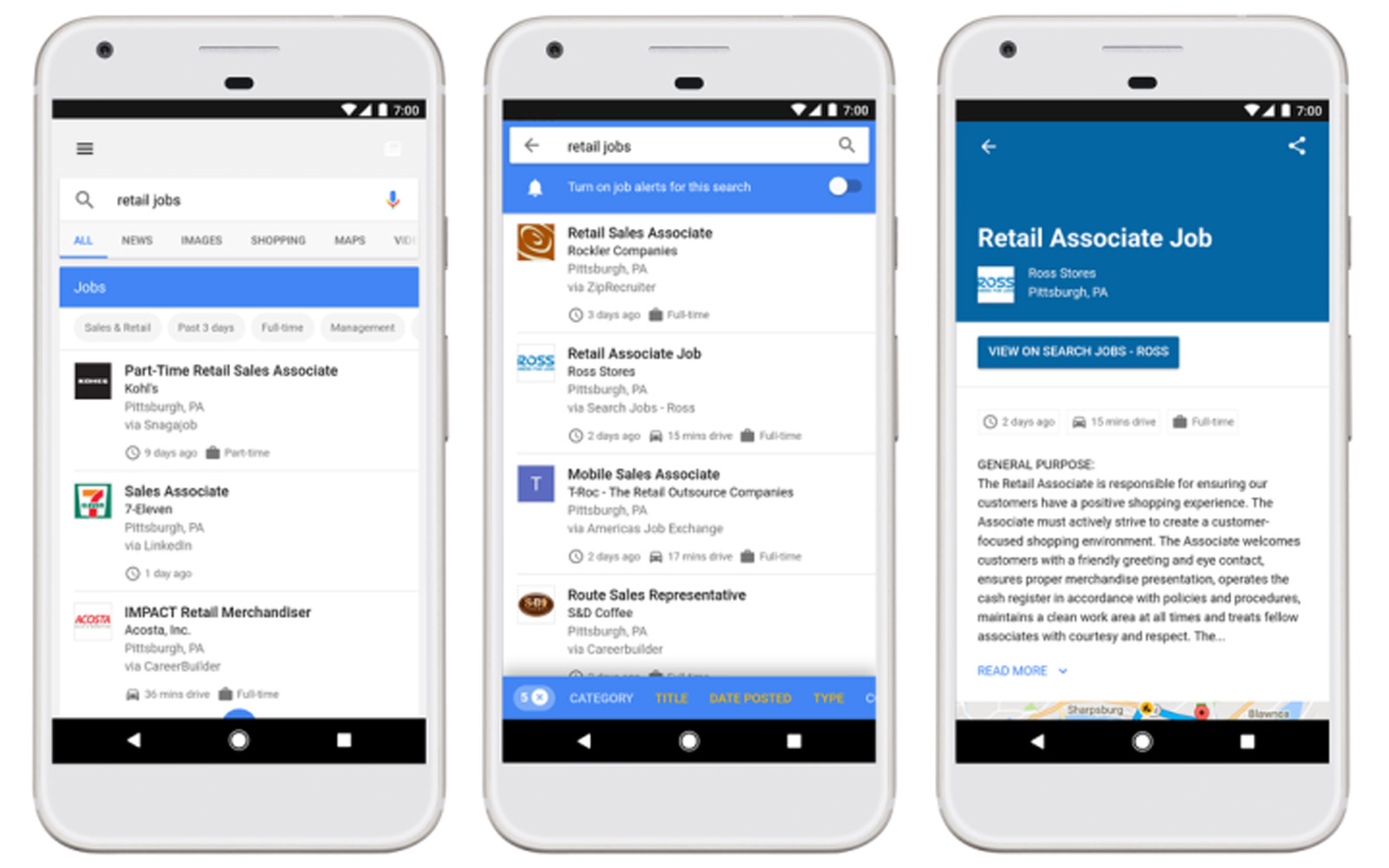Google Gets New Job Hunting Feature