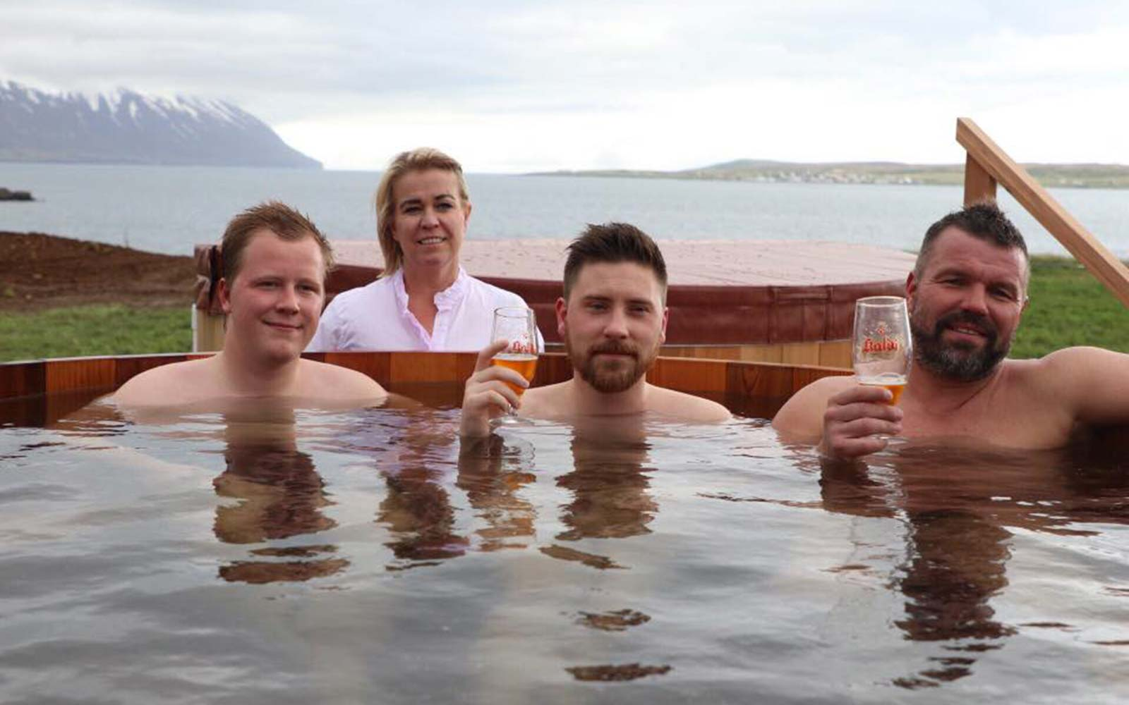 There Is a Spa in Iceland Where You Can Soak in Tubs of Beer