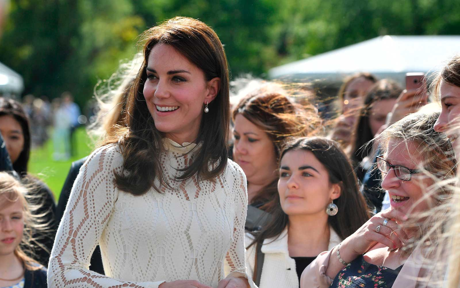 Kate Middleton wore these $23 wedges for a party at Buckingham Palace