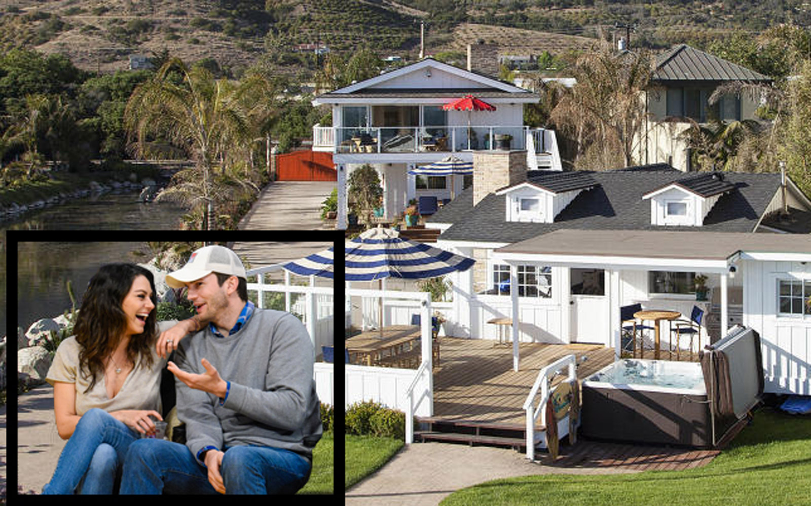 Take a Look Inside Mila Kunis and Ashton Kutcher's New $10-million Beach House