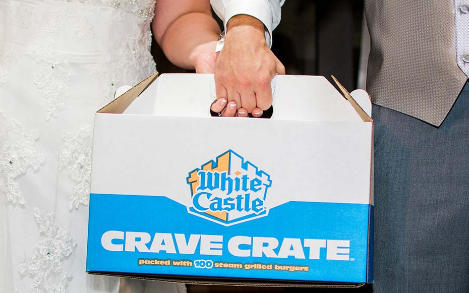 White Castle is giving away a 'royal wedding' in Las Vegas