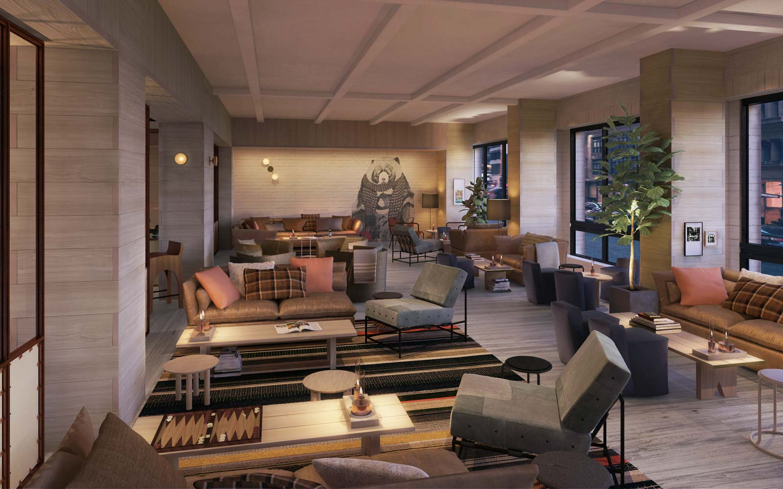 new york city 39 s largest rooftop bar is about to open. Black Bedroom Furniture Sets. Home Design Ideas