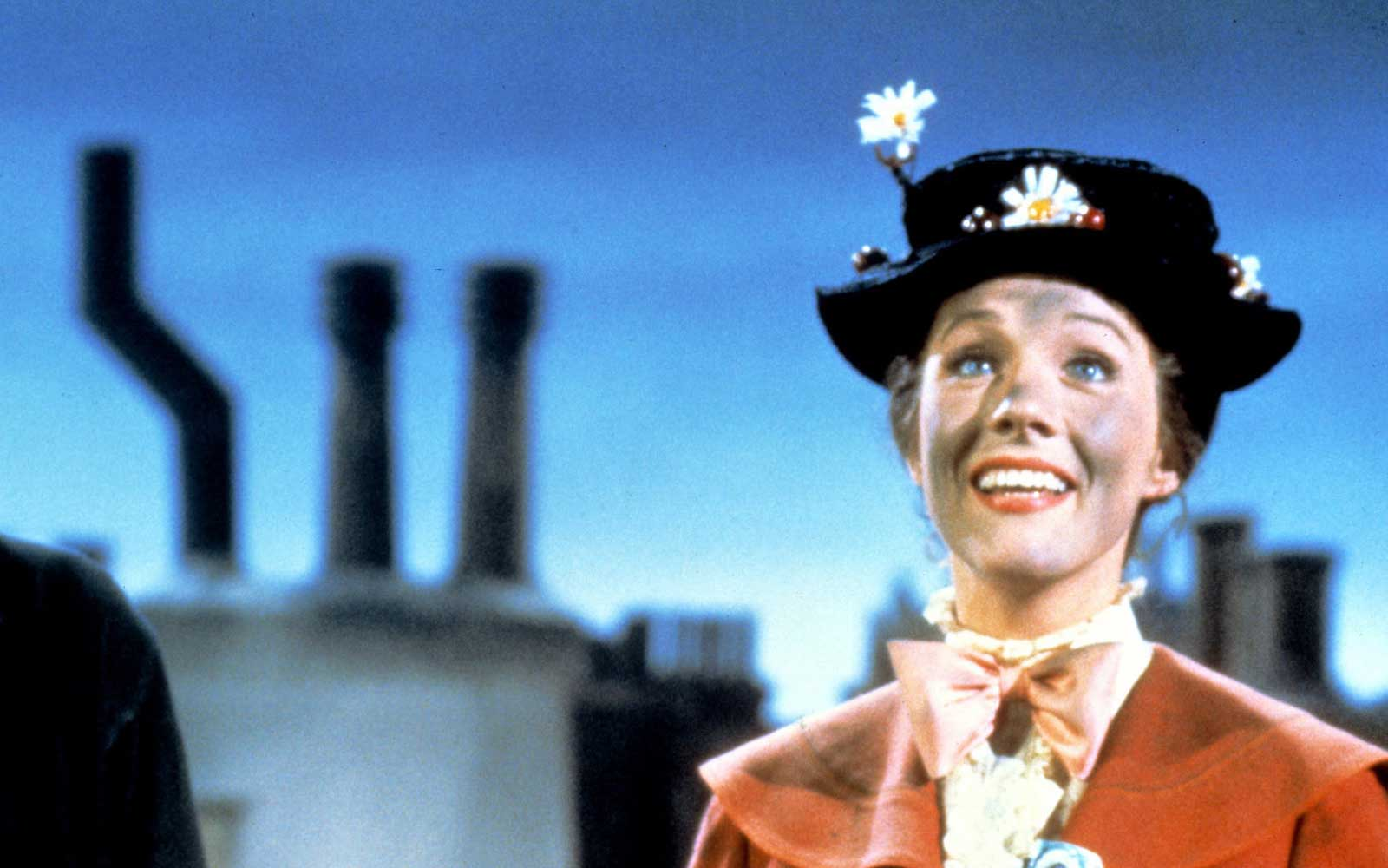 Fans of Mary Poppins Can Fly Umbrellas and Sweep Chimneys at This Festival