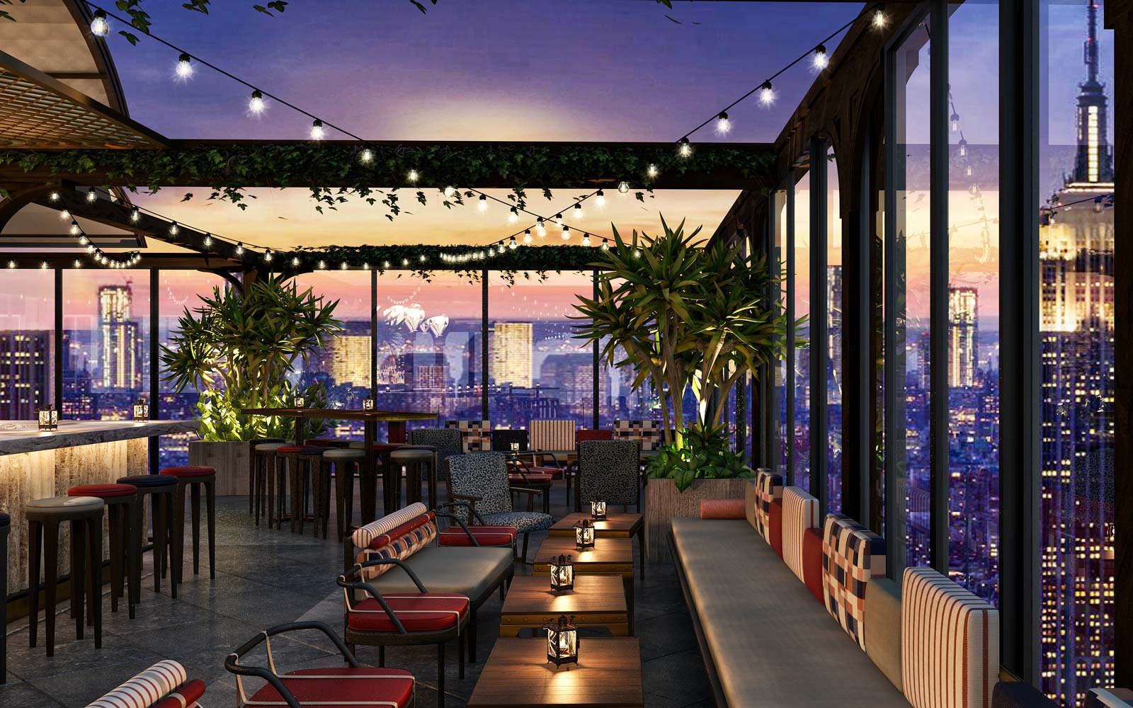 New York City's Largest Rooftop Bar Is About to Open ...