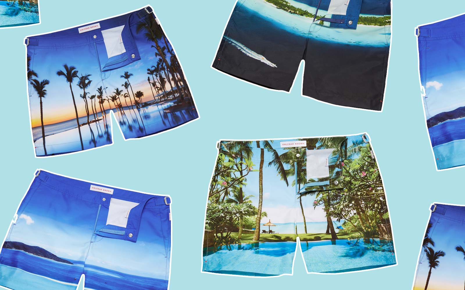 Lust-worthy travel find: Orlebar Brown x One&Only Resorts swim shorts