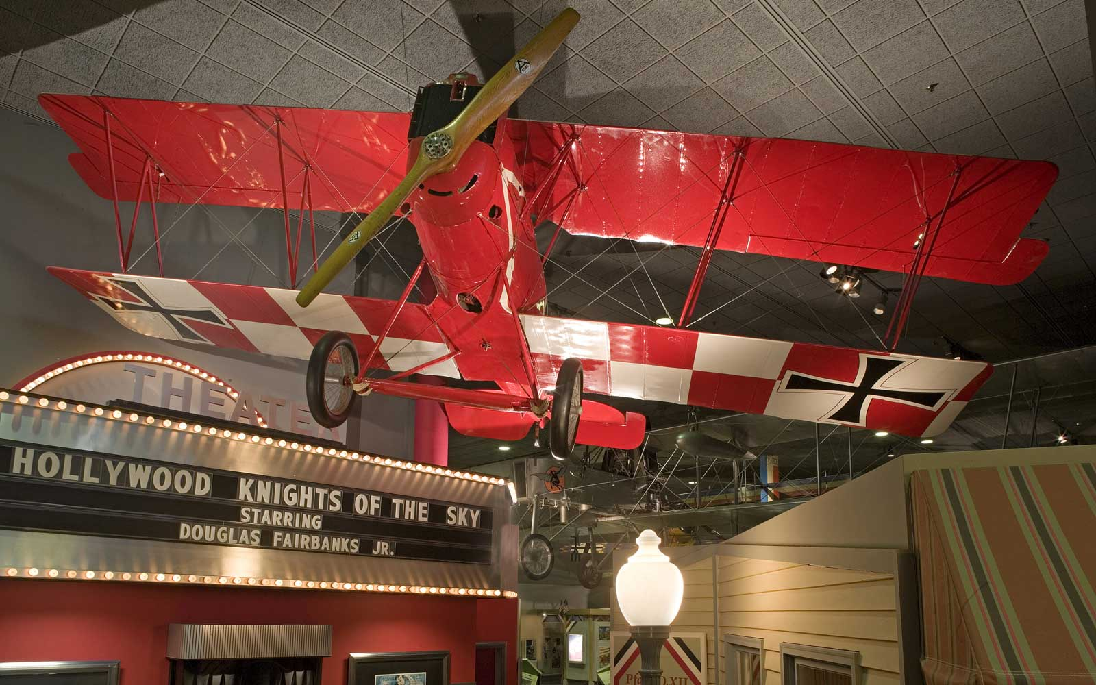 World War I Planes on Display