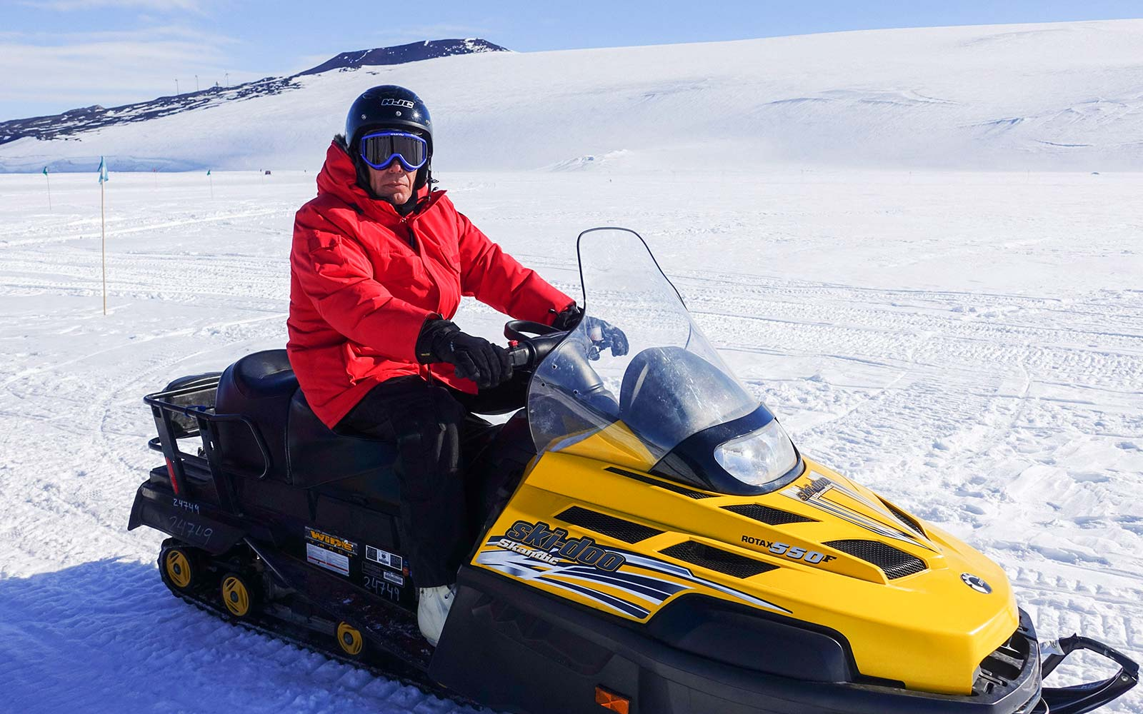 Anthony Bourdain Traveled to Antarctica and Hung Out With Penguins