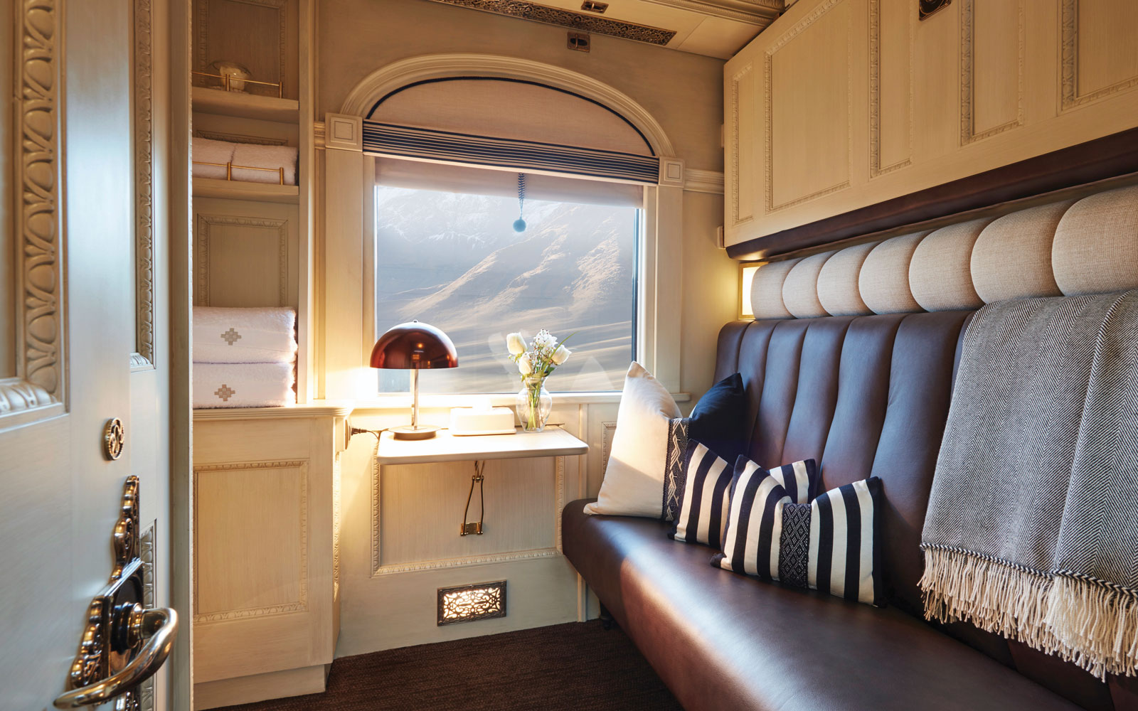 Travel Through the Andes on South America's First Luxury Sleeper Train