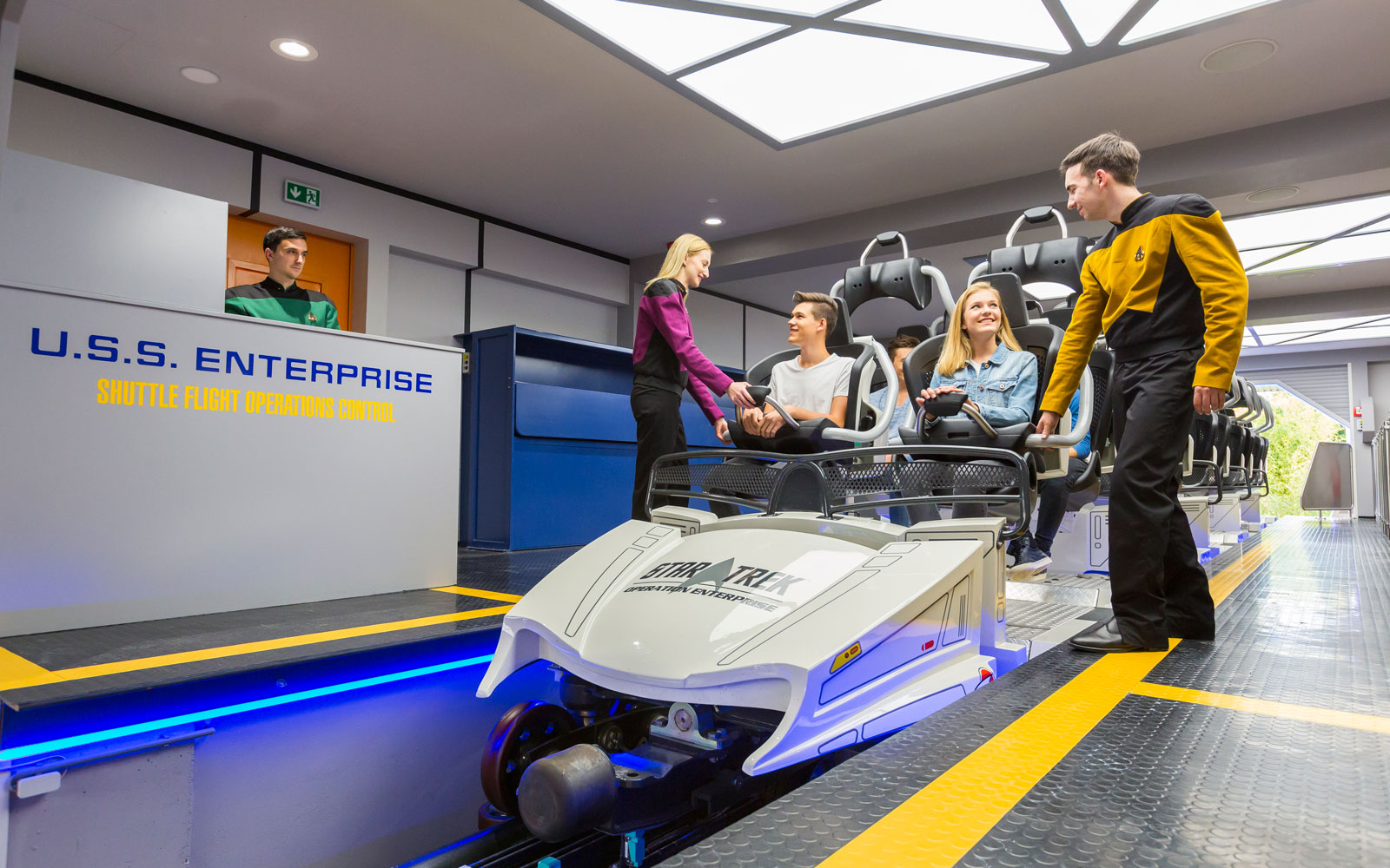 The World's First 'Star Trek' Roller Coaster Is Here