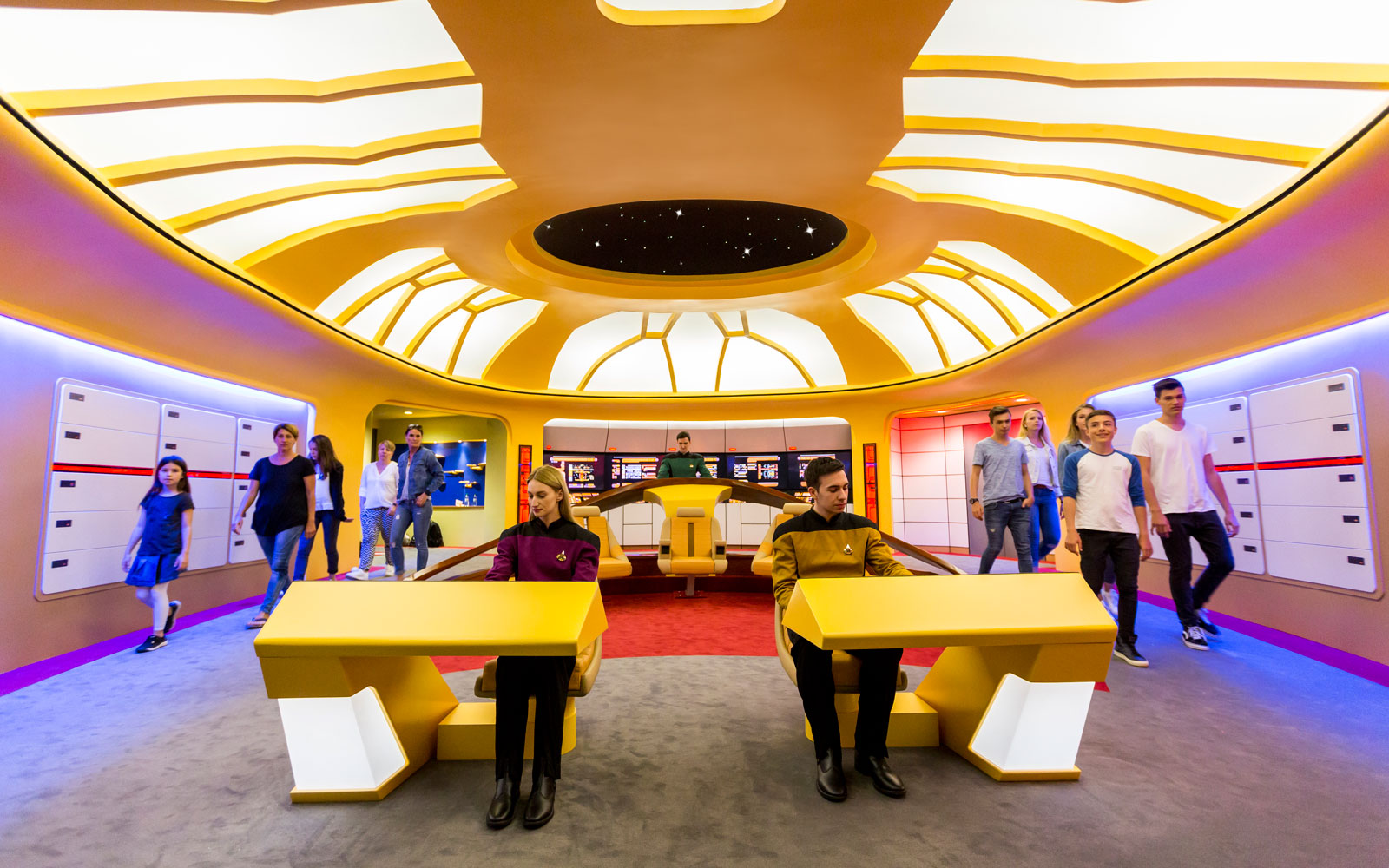 star trek ride entrance