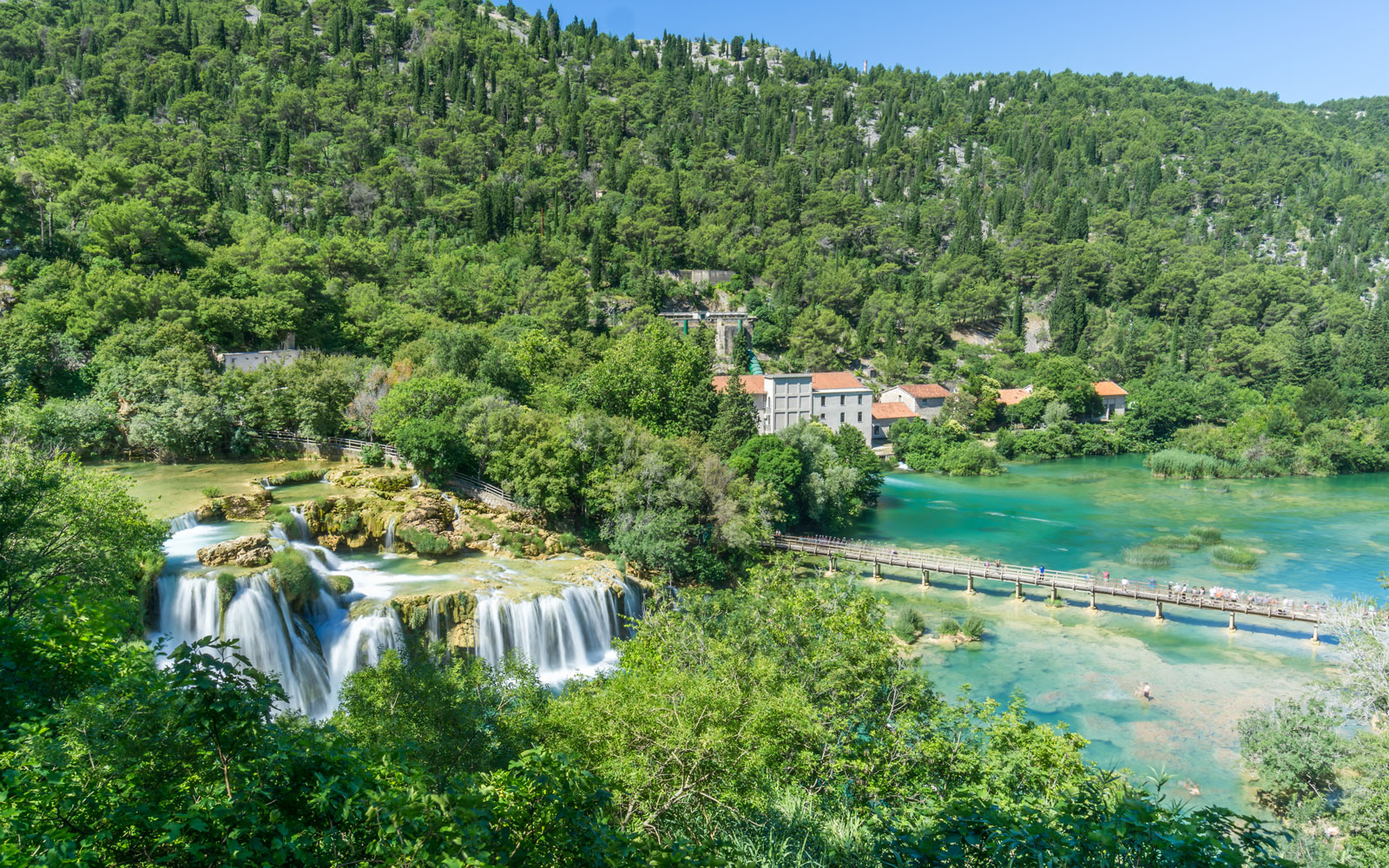 This waterfall in Croatia is attracting so many tourists, there's a new cap on visitors