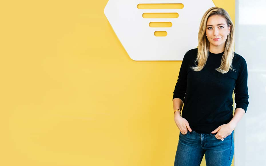 This is the one thing Bumble founder Whitney Wolfe can't travel without