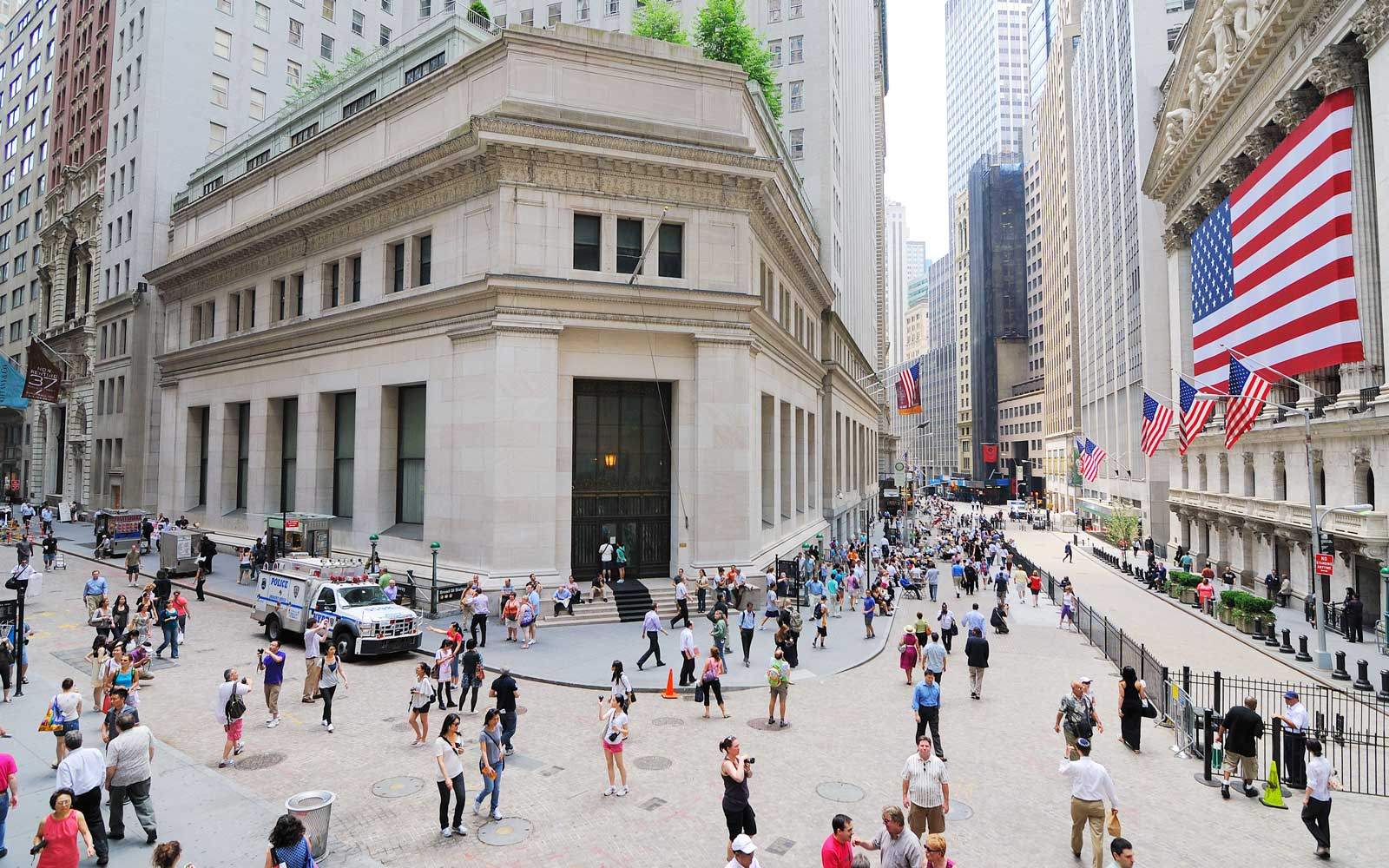 New York Stock Exchange FiDi New York