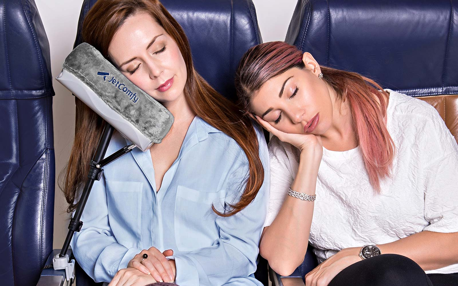 This Travel Pillow May Have Finally Solved the Biggest Issue With Napping on Planes
