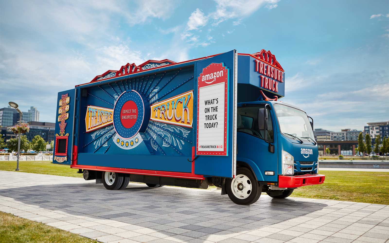 Amazon's 'Treasure Truck' May Be Coming to Your City Soon