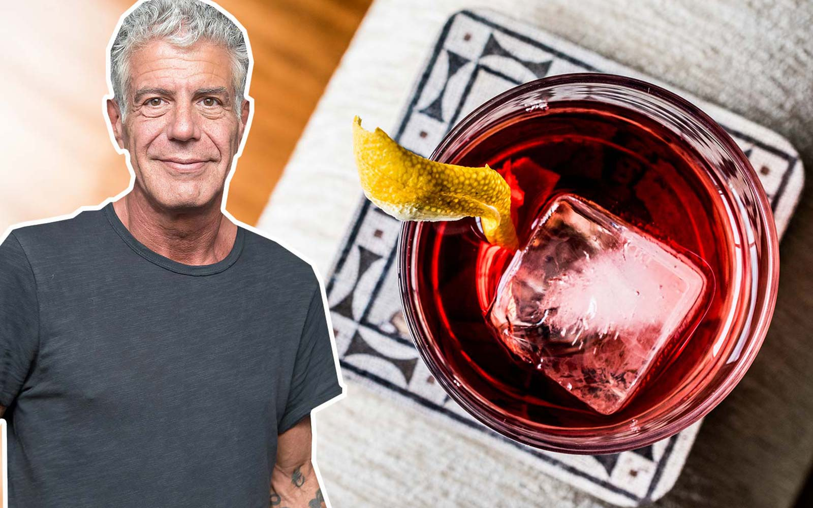 Is This Anthony Bourdain's Favorite Cocktail?