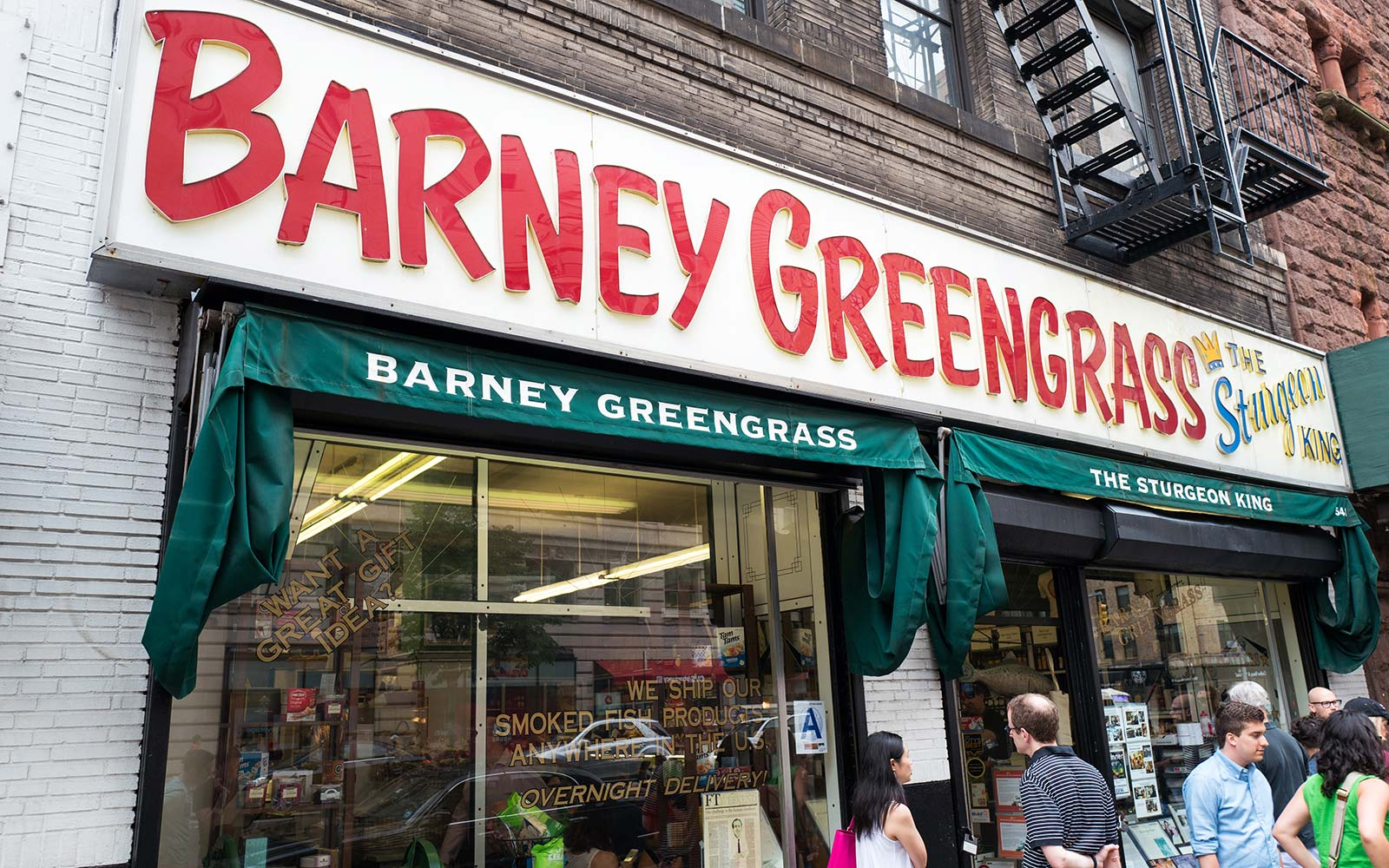Best Upper West Side New York City Restaurants Barney Greengrass