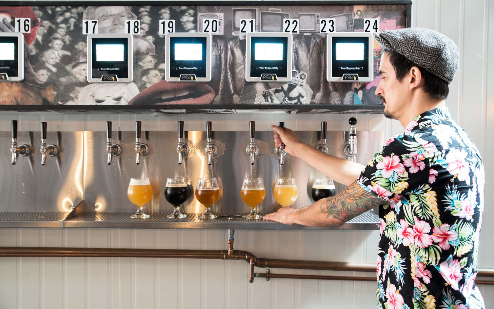 Self-Serve Beer in Williamsburg