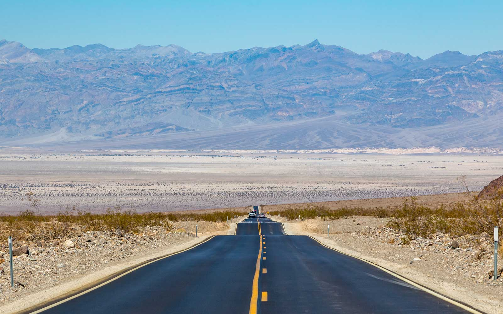 Death Valley's Summer Visitors Come for the Heat