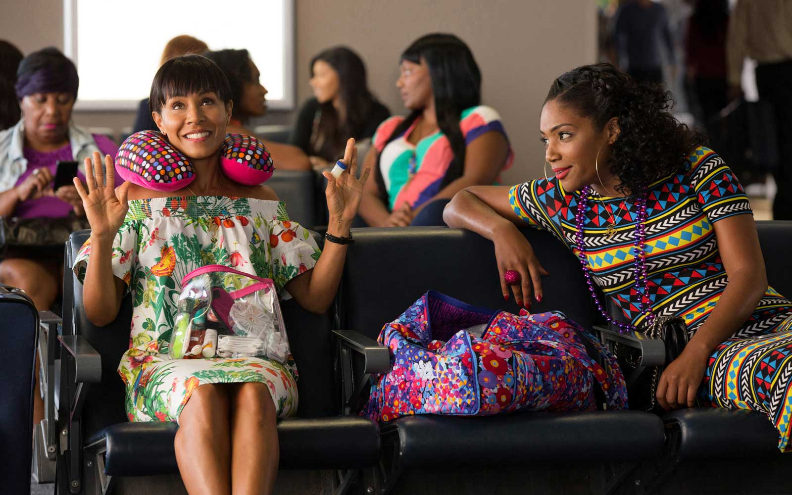 Girls Trip (2017)Directed by Malcolm D. LeeShown from left: Jada Pinkett Smith, Tiffany Haddish