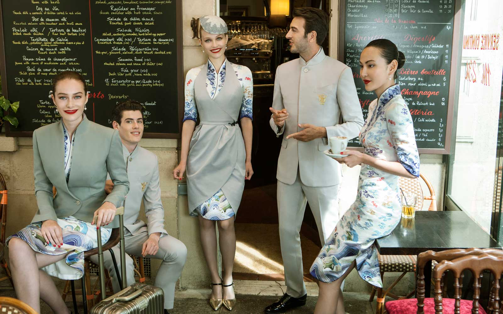 Hainan Airlines New Uniforms