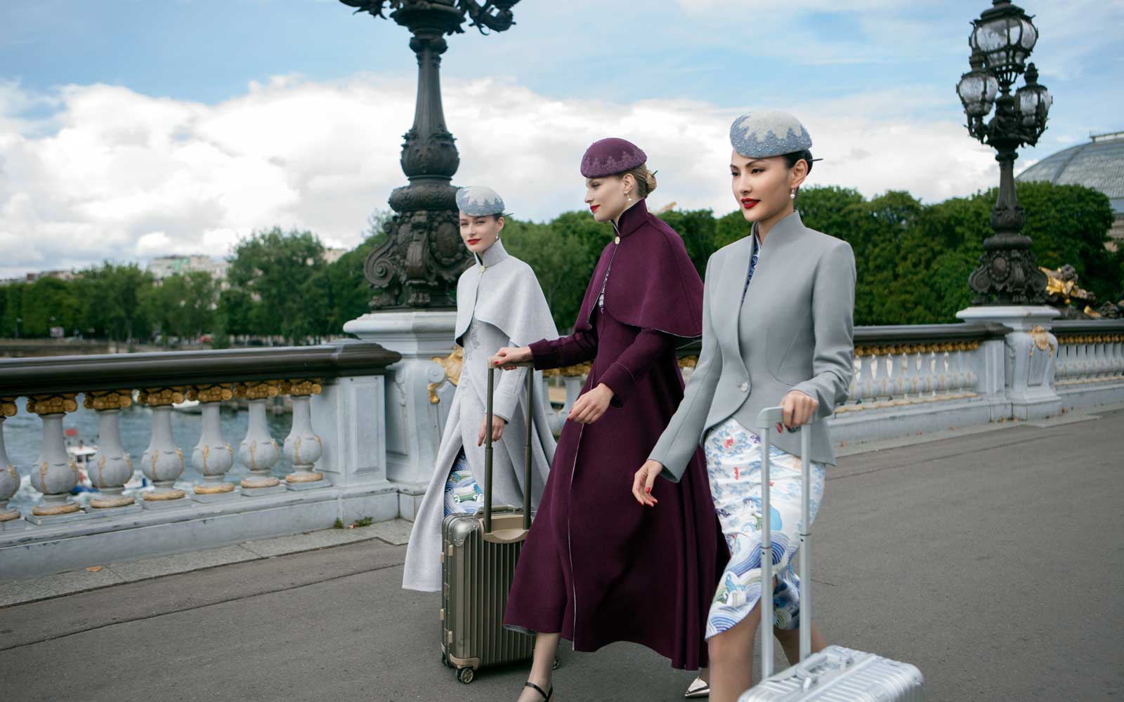 This Chinese Airline Now Has Haute Couture Uniforms