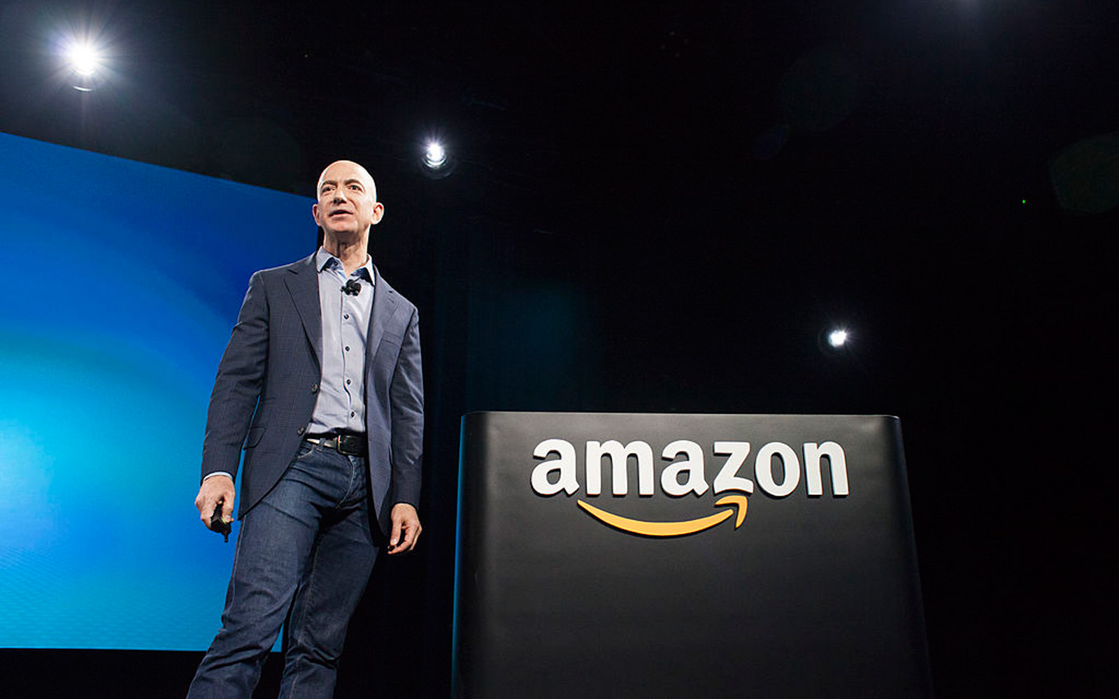 Jeff Bezos Was the Richest Person in the World for a Few Hours...