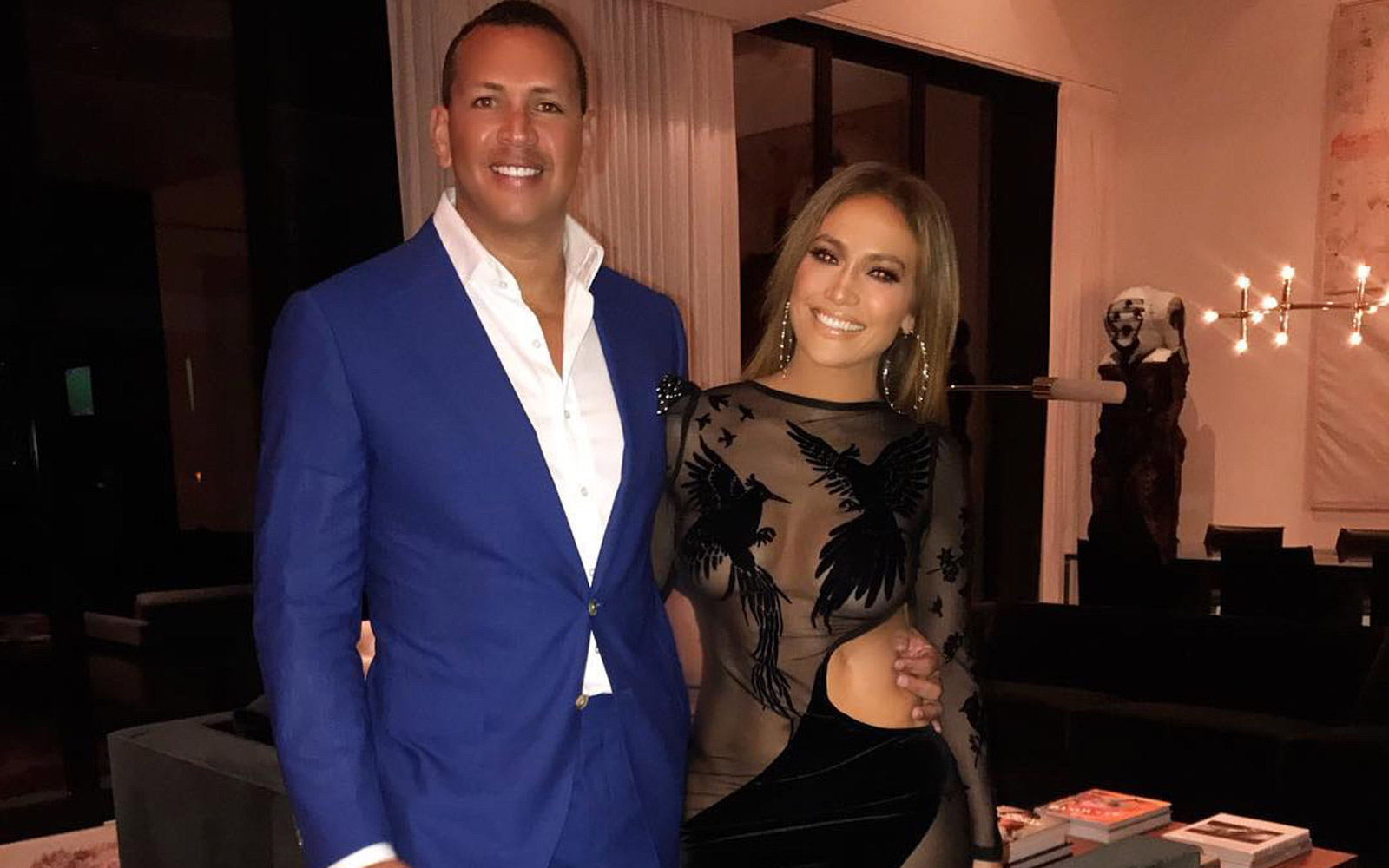 Jennifer Lopez and Alex Rodriguez Had a Joint Birthday Party