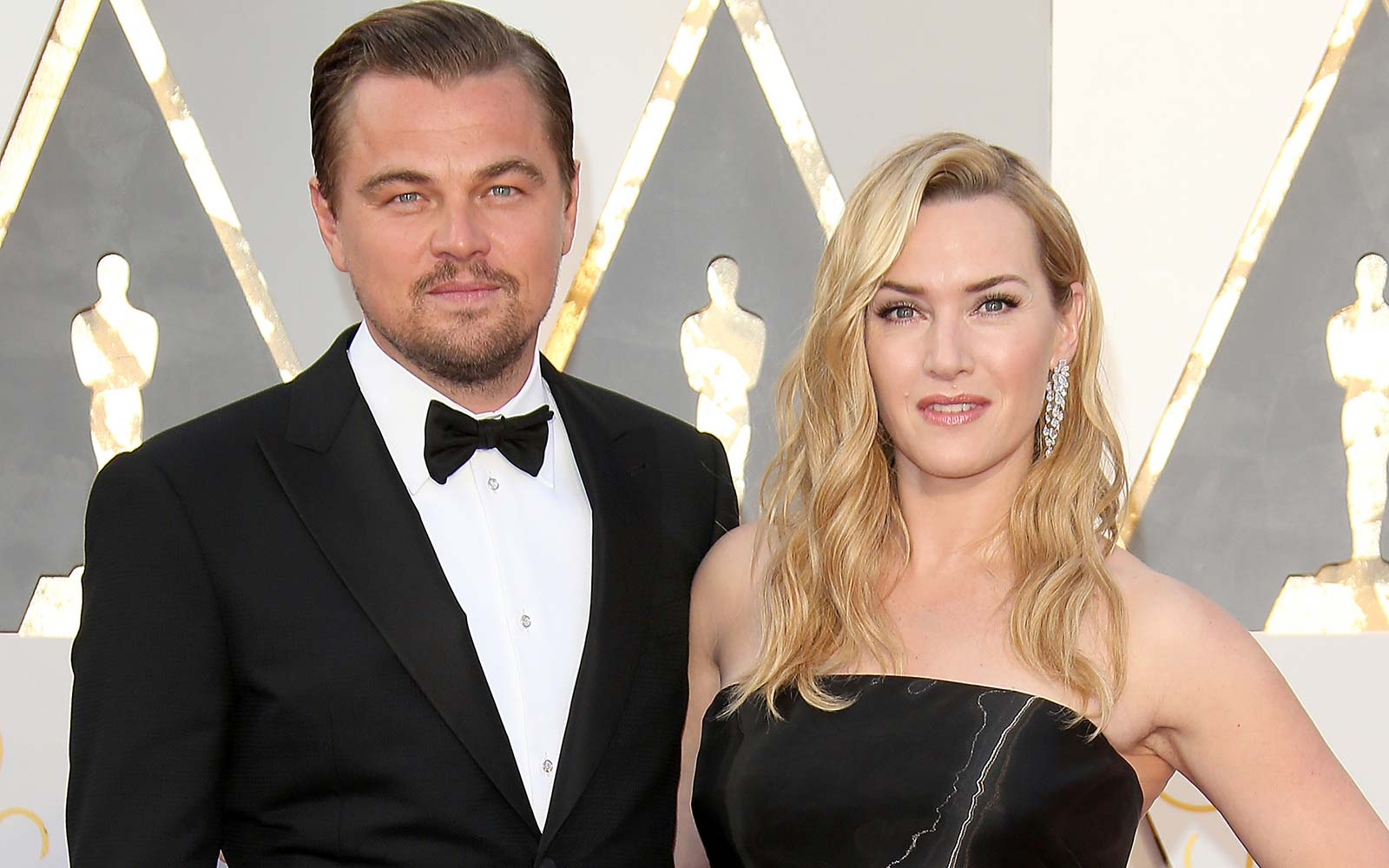 Actors Leonardo DiCaprio and Kate Winslet Hollywood California
